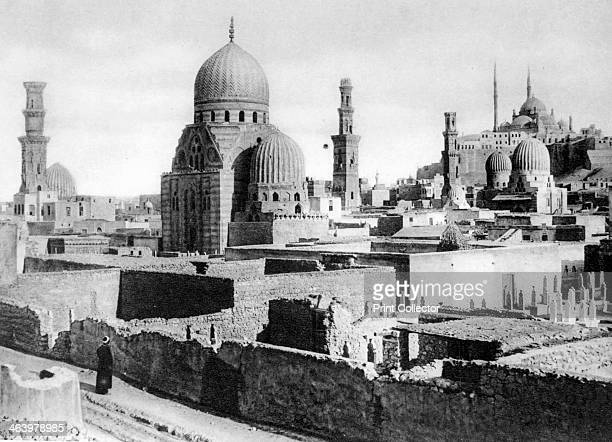 The Tombs of the Mameluks Cairo Egypt c1920s A mamaluk was a slave soldier who converted to Islam and served the Muslim caliphs and the Ayyubid...