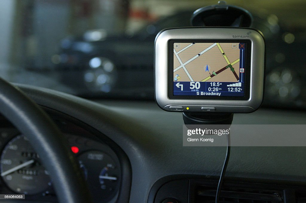 The TomTom GO 700 GPS unit   This photo is for the