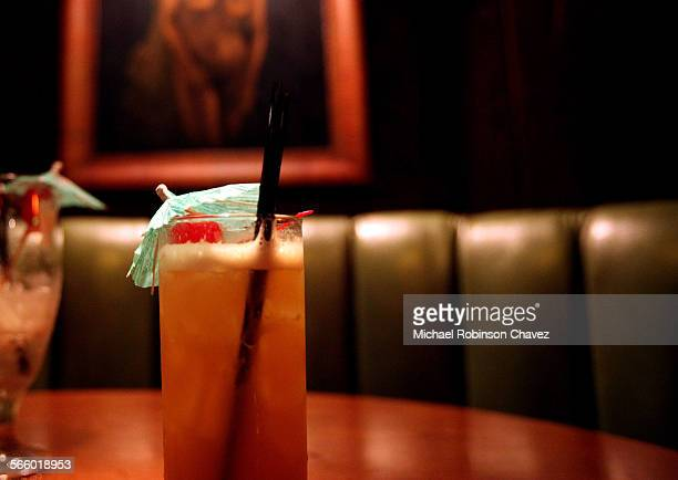 The Tonga Hut has been open for 55 years and is one of a rapidly disappearing drinking establishment the tiki bar Umbrella drinks mainly with rum are...