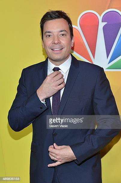 'The Tonight Show' host Jimmy Fallon attends the 2014 NBC Upfront Presentation at The Jacob K Javits Convention Center on May 12 2014 in New York City