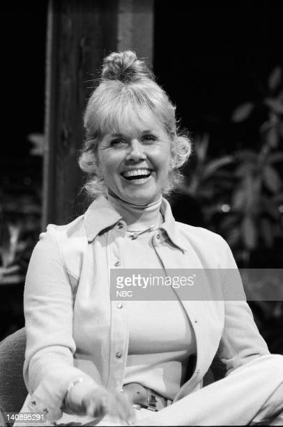The Tonight Show Starring Johnny Carson Pictured Actress/singer Doris Day on November 26 1973 Photo by NBC/NBCU Photo Bank