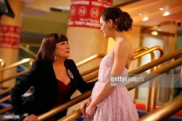 SMASH The Tonys Episode 217 Pictured Anjelica Huston as Eileen Rand Katharine McPhee as Karen Cartwright