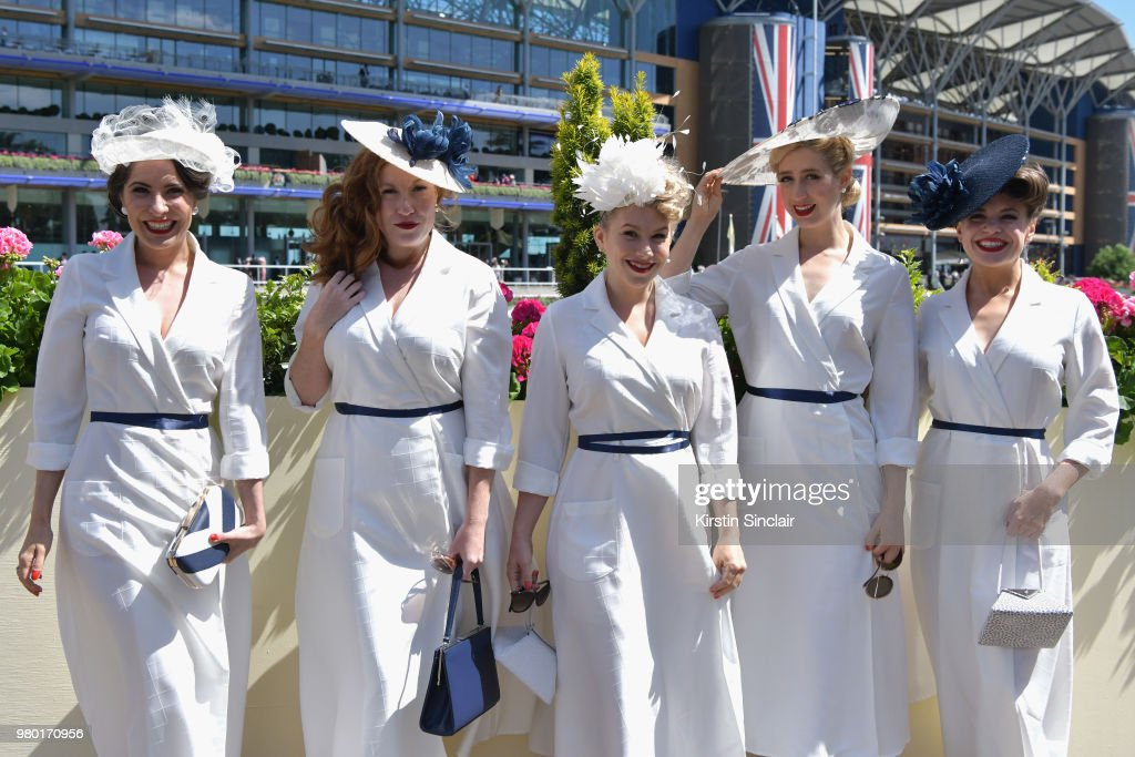 Royal Ascot 2018 - Fashion, Day 3