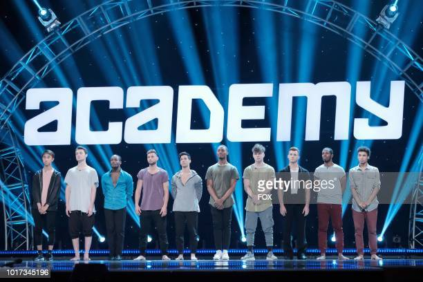 The top 10 men during academy week airing Monday July 30 on FOX