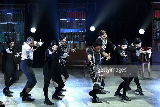 The Top 8 contestants perform a group dance routine to Lillies Of The Valley choreographed by Tyce Diorio on SO YOU THINK YOU CAN DANCE airing Monday...