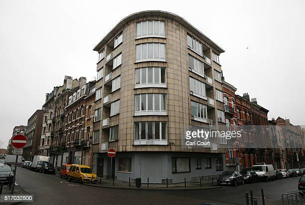 The top floor apartment believed to be used by brothers Khalid and Brahim elBakraoui before their suicide attack on Brussels Zaventem airport on...