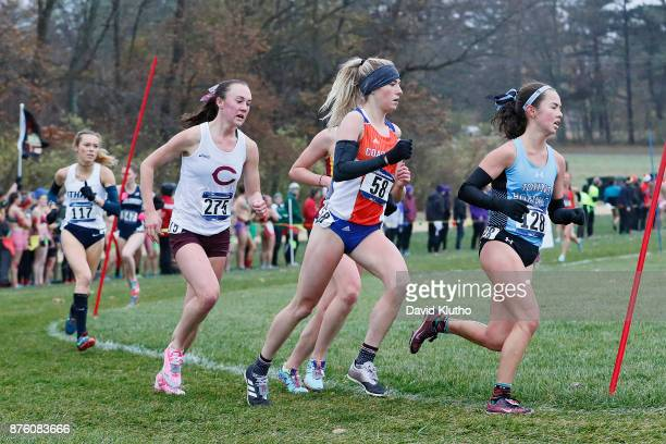 the top four finishers stayed together most of the race during the Division III Men's and Women's NCAA Photos via Getty Images Cross Country...