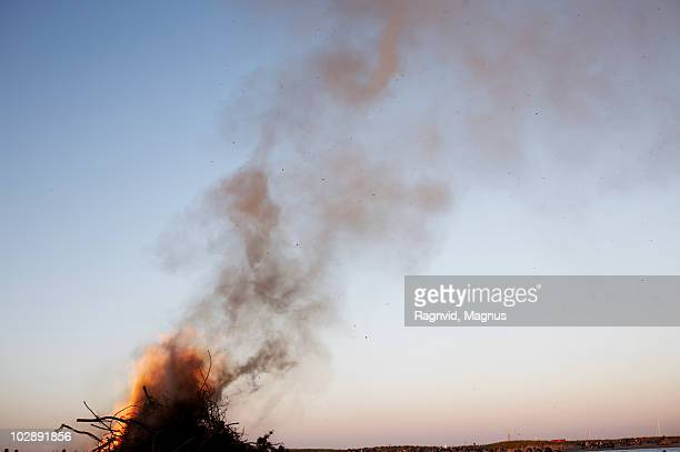 the top of a fire. - oresund region stock photos and pictures