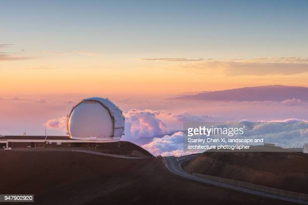 The top of Hawaii, the sea of clouds