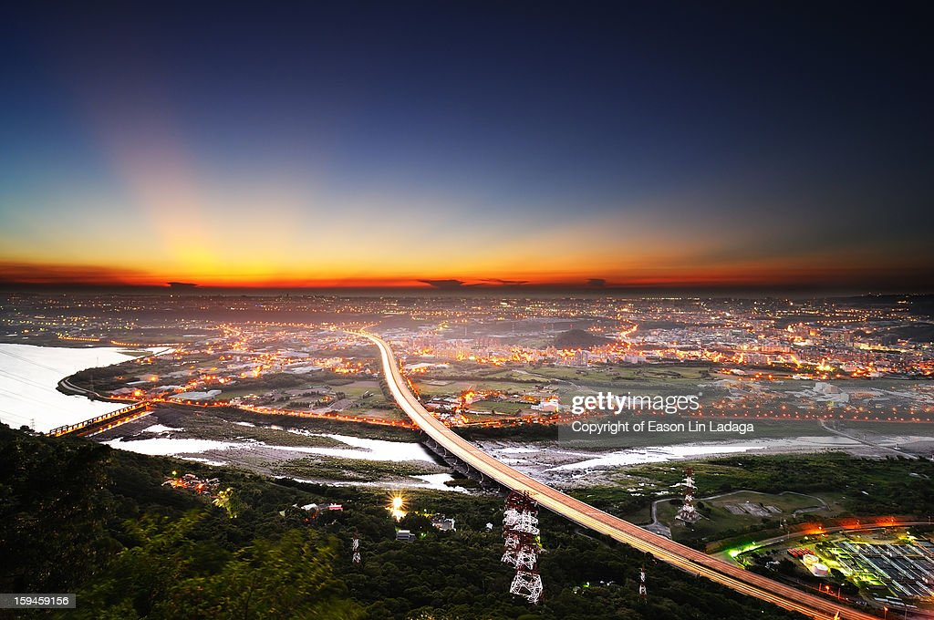 The Top of Mt. Yuan : Stock Photo