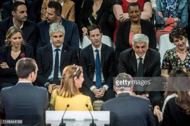 The top of the list François-Xavier Bellamy was present with Laurent Wauquiez, Hervé Morin and many other party members.
