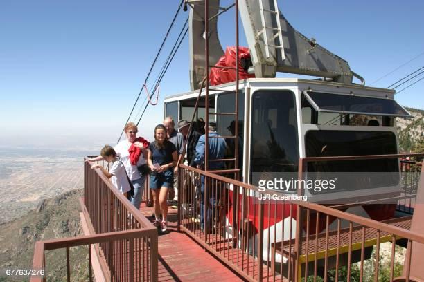 The top of the Sandia Peak Aerial Tramway