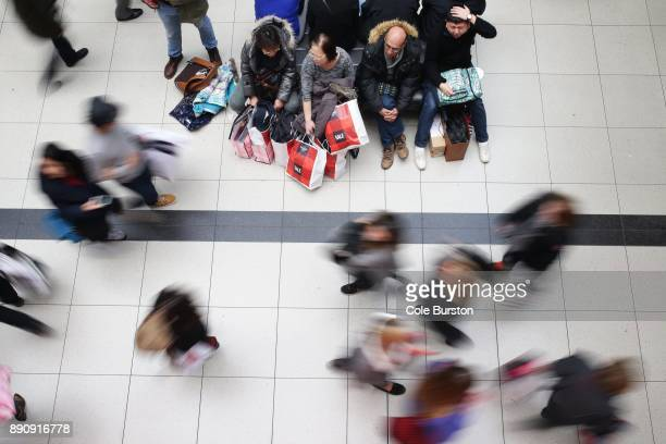 TORONTO ON DECEMBER 26 The Toronto Eaton Centre as shoppers make their way around the mall on Boxing Day December 26 2015