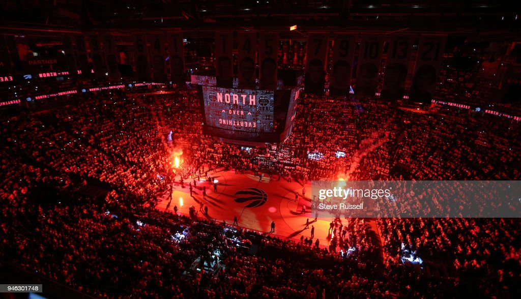 Toronto Raptors open the first round of the NBA playoffs aginst the Washington Wizards : News Photo