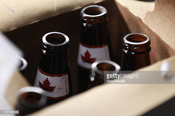 The Toronto Star follows the life of a Molson Canadian bottle from being returned to a beer stor to being sold again Employees at Beer Store on Peel...