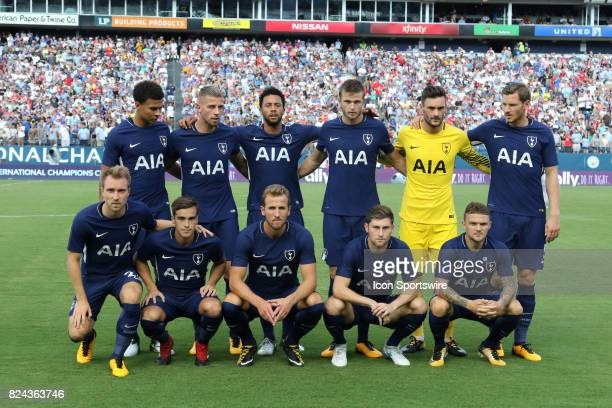 The Tottenham Hotspur starting lineup before the game between Manchester City and Tottenham Hotspur xxx defeated xxxx by the score of xx This...