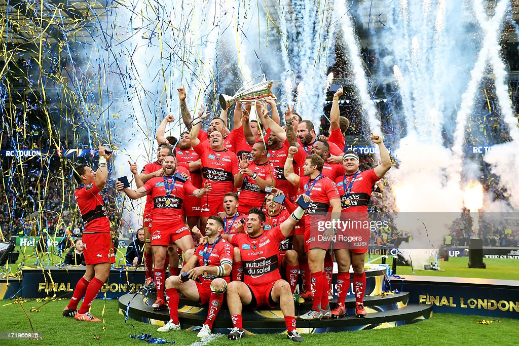 ASM Clermont Auvergne v RC Toulon - European Rugby Champions Cup Final : News Photo