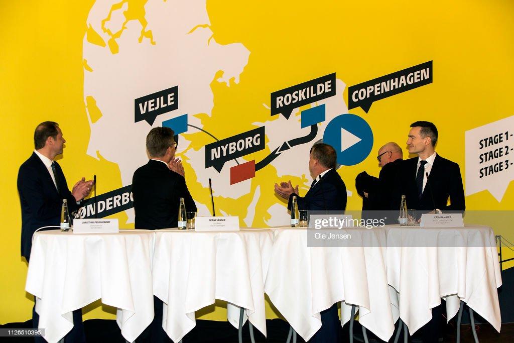 DNK: Danish Prime Minister Holds Press Meeting About Tour De France 2021 Start In Denmark