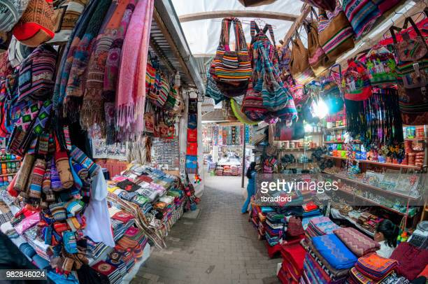 The Tourist Market At Aguas Calientes In Peru