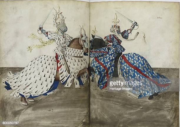 The Tournament Book of René d'Anjou ca 1447 Found in the collection of Bibliothèque Nationale de France Artist Anonymous