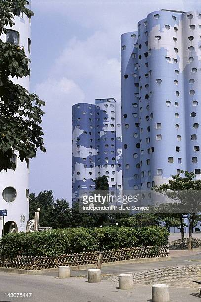 The Tours Aillaud are a group of residential buildings located in Nanterre in the inner suburbs of Paris France They were built in 1977 at the...