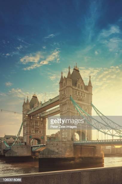 The Tower Bridge in London, United Kingdom