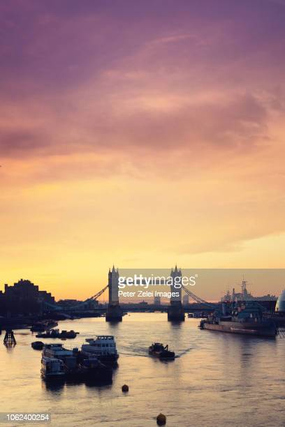 the tower bridge in london, united kingdom - tower bridge stock photos and pictures