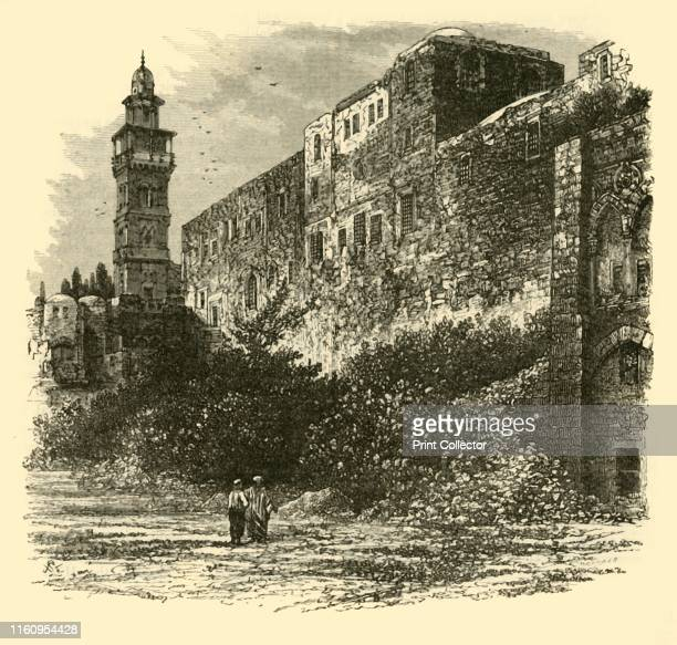 'The Tower of Antonia Jerusalem' 1890 From Cassell's Illustrated Universal History Vol II Rome by Edmund Ollier [Cassell and Company Limited London...