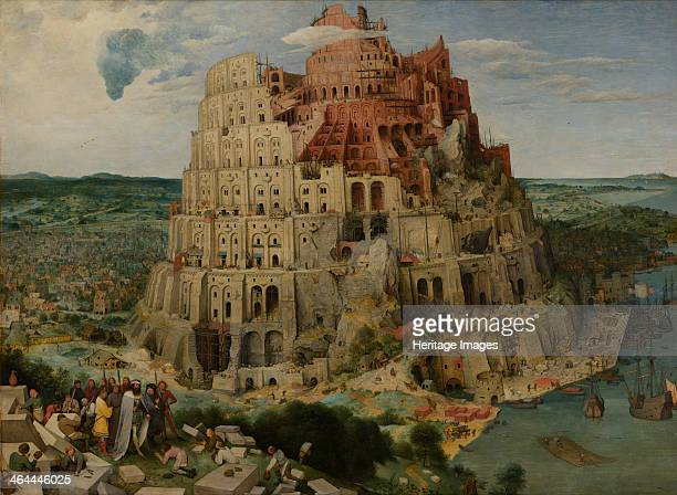 The Tower of Babel 1563 Found in the collection of the Art History Museum Vienne