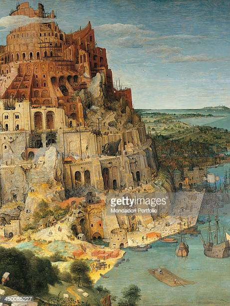 The Tower of Babel by Pieter Bruegel the Elder 16th Century oil on wood 114 x 155 cm