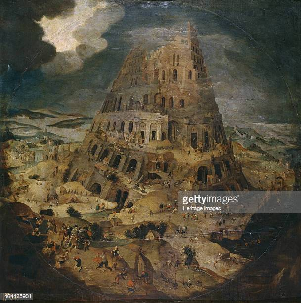 The Tower of Babel ca 1595 Found in the collection of the Museo del Prado Madrid