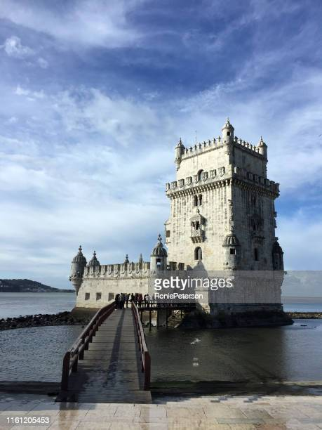 the tower of belém - governor stock pictures, royalty-free photos & images
