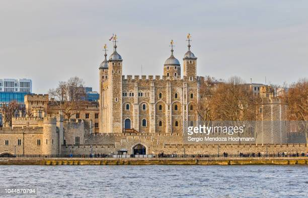 the tower of london in london, england - tower of london stock pictures, royalty-free photos & images