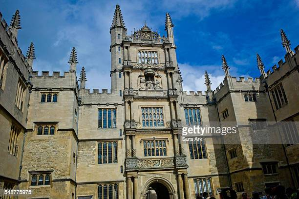 The Tower of The Five Orders Bodleian Library Oxford University England 8/12/2014