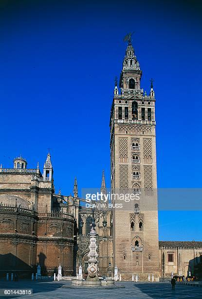 The tower of the Giralda 12th16th century Seville Andalusia Spain