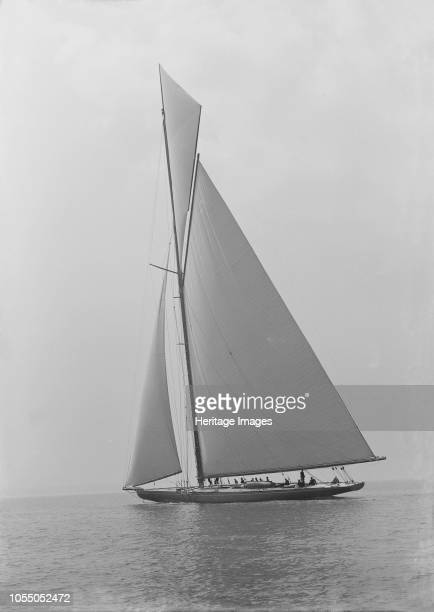 The towering 10450 sq ft sail area of 'Shamrock IV' 1914 'Shamrock IV' was a yacht owned by Sir Thomas Lipton and designed by Charles Ernest...