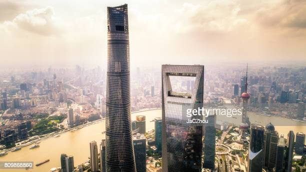 the towers - prosperity stock pictures, royalty-free photos & images