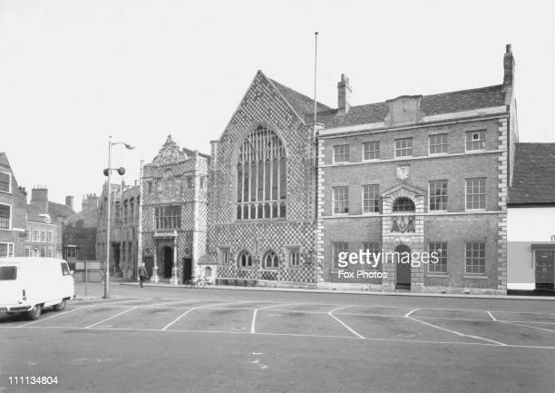 The Town Hall at Kings Lynn and Guildhall of Holy Trinity rebuilt 1421 May 1971