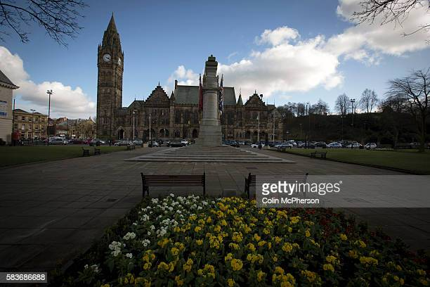The town hall in the centre of the town of Rochdale in Greater Manchester The town the birthplace of the Cooperative movement and was known for its...