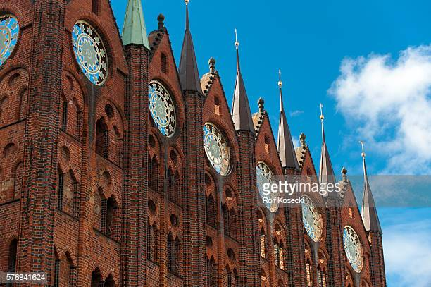 The town hall on October 01 2013 in Stralsund Germany