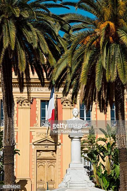 The Town Hall,Menton, French Riviera, Alpes Maritimes, France