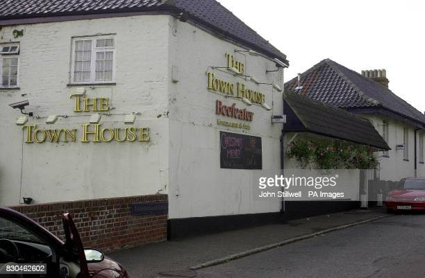 'The Town House' in Thorpe St Andrew near Norwich where the terminallyill former gangland leader Reggie Kray is staying after being released early...