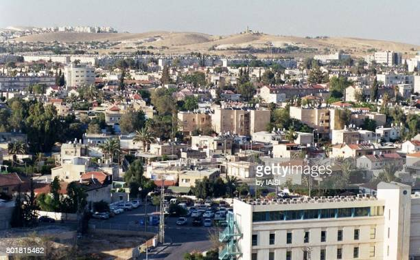 The town of Beersheba, the 'capital of the Negev', at the outskirts of the desert