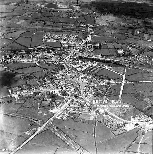 The town of Clones in West Monaghan and close to the Fermanagh Northern Ireland border 12/09/52 Photograph by Alexander Campbell 'Monkey' Morgan
