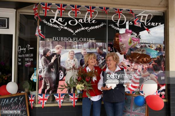 The town of Dubbo prepares for the arrival of Prince Harry Duke of Sussex and Meghan Duchess of Sussex on October 17 2018 in Dubbo Australia The Duke...