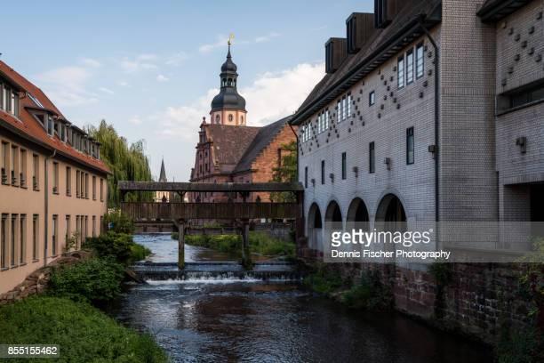 the town of ettlingen - karlsruhe stock-fotos und bilder