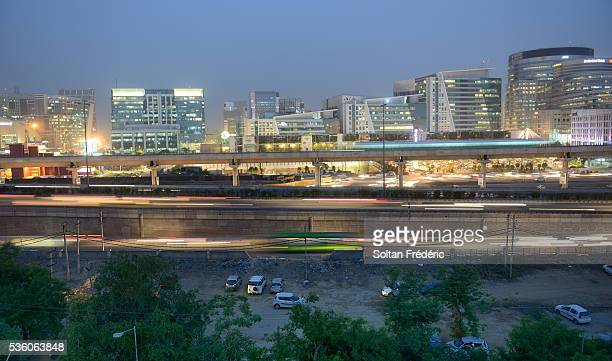 The town of Gurgaon
