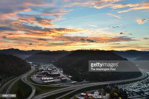 The town of Pikeville is woven into the valleys of eastern Kentucky coal country of Pike County on Friday November 2015 in Pikeville KY In this...