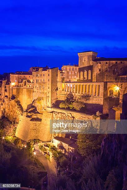 THe town of Pitigliano in Grosseto, southern Tuscany, Italy