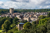 The town of Richmond, North Yorkshire, England